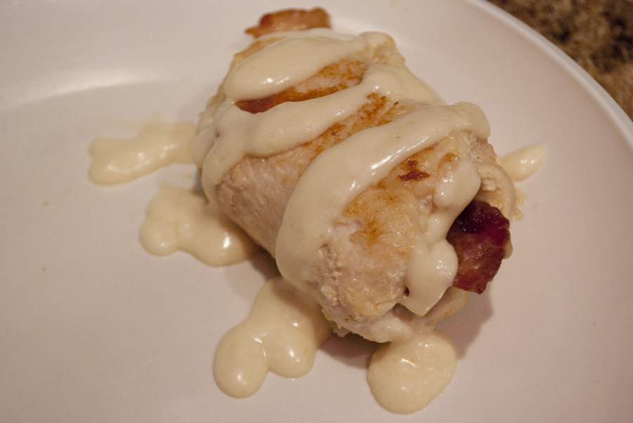 Chicken Cordon Bleu with bacon??