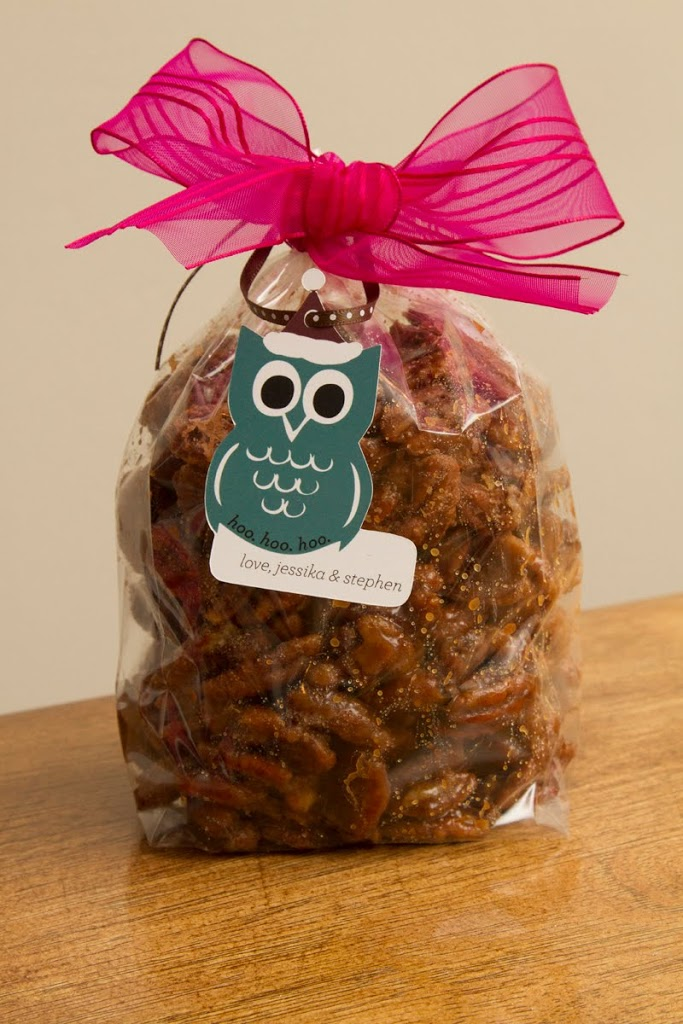 Yummy Bags of Candied Pecans
