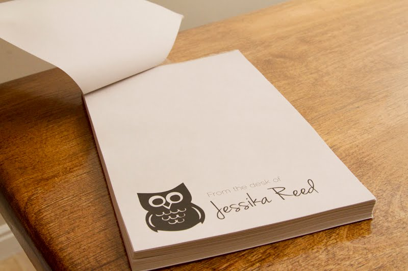 Homemade Tear Off Personal Notepad Tutorial