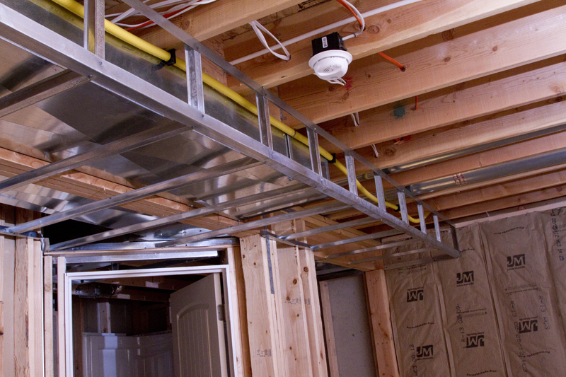 Framing A Basement Ceiling For Drywall - Rooms