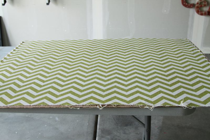 DIY-Double-Frame-Project-Tutorial - Fabric