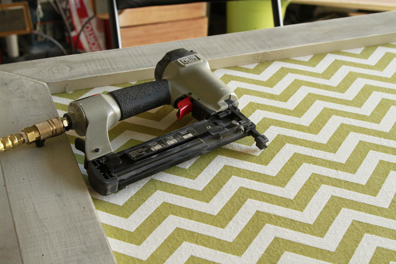 DIY-Double-Frame-Project-Tutorial - Nail Gun