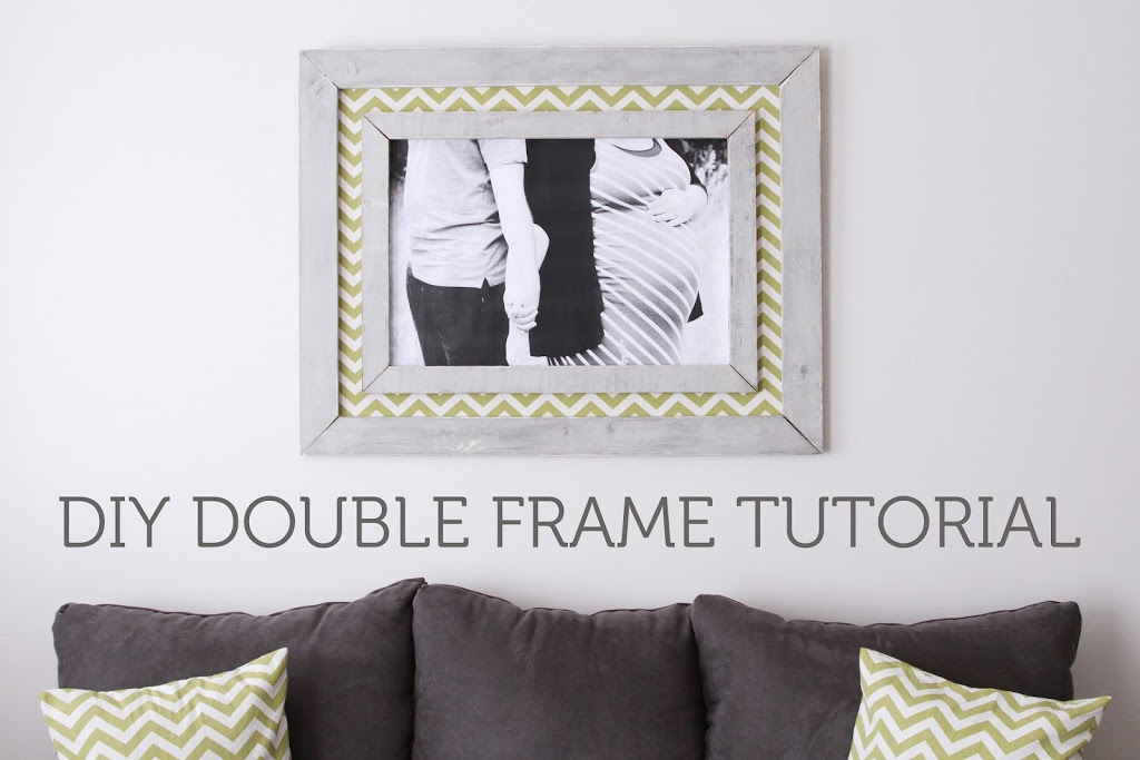 DIY Double Frame Project Tutorial