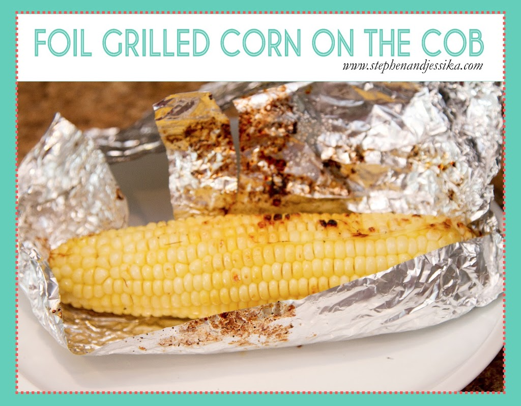 Foil Grilled Corn on the Cob