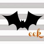 Five Free Halloween Printables