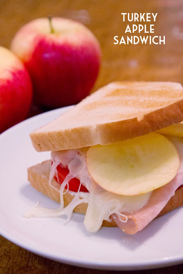 Turkey Apple Sandwiches