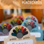 Thanksgiving Turkey Placecards – Free Printables