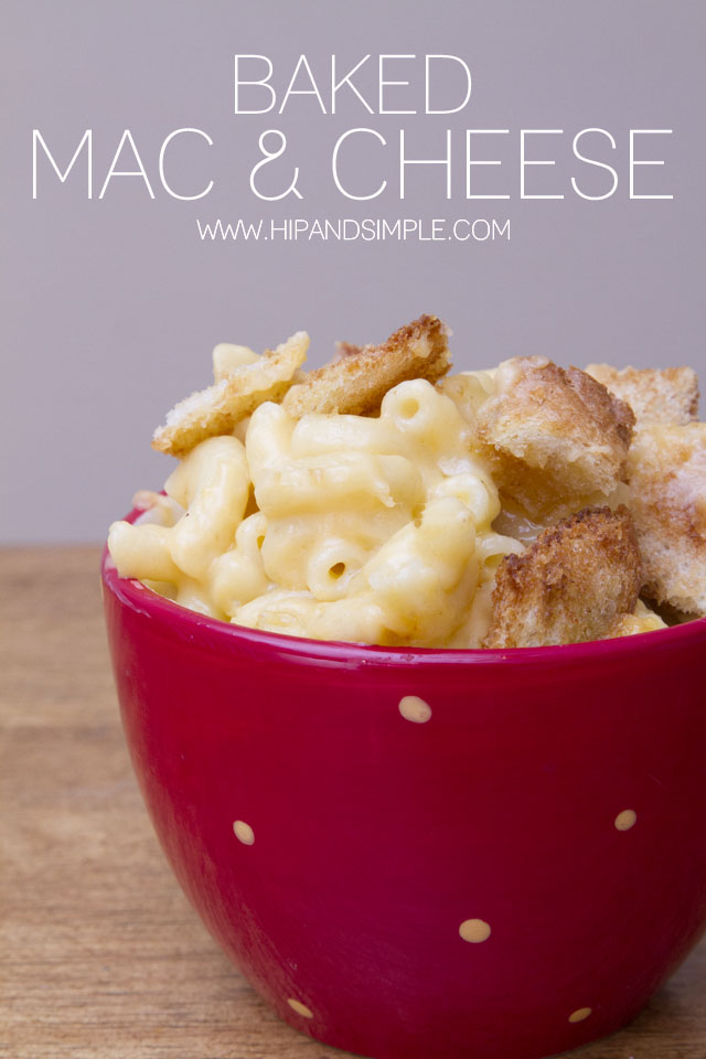 Baked Mac and Cheese - 3