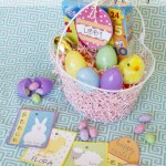 Free Easter Basket Name Tag Printables