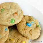 M&M's Crispy Cookies