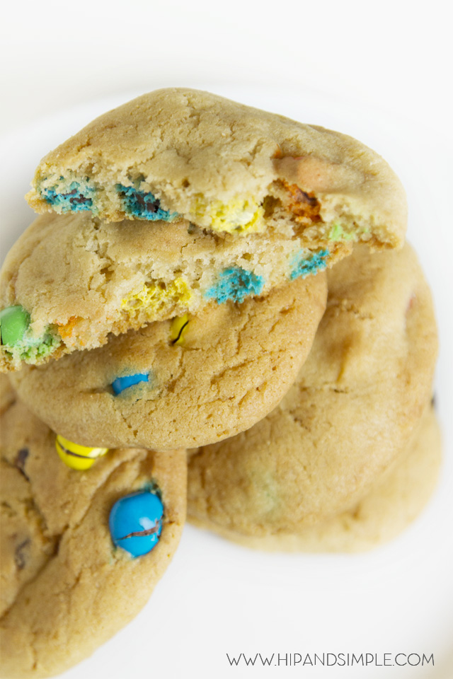 M&M's Crispy Cookies 3