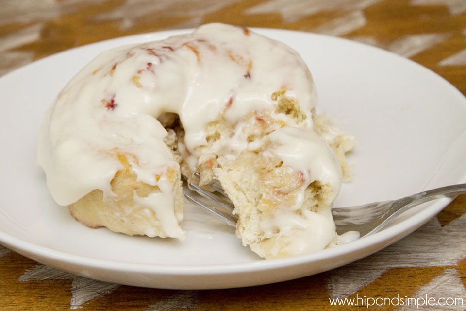 Strawberry Sweet Rolls with Cream Cheese Frosting Final 2 - @hipandsimple copy