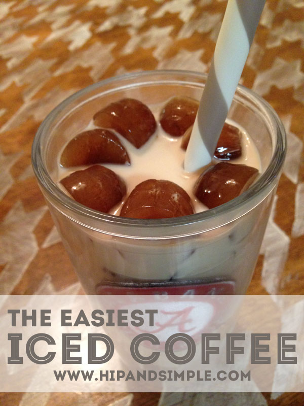 The Easiest Iced Coffee