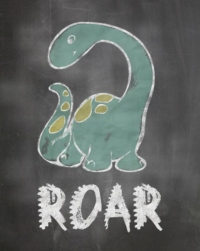 Dinosaur Chalkboard Free Printable final2