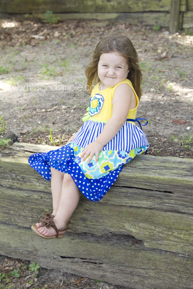 Three Year Old Photoshoot Idea - Kailyn 3