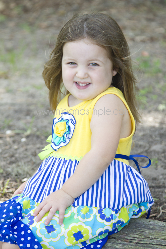 Three Year Old Photoshoot Idea - Kailyn 4