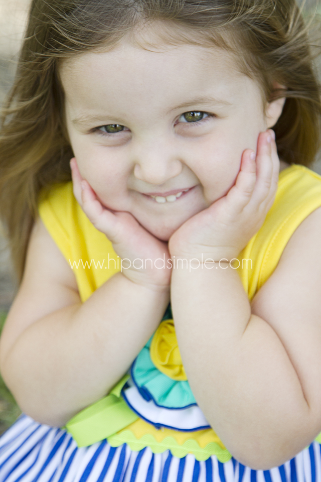Three Year Old Photoshoot Idea - Kailyn 5