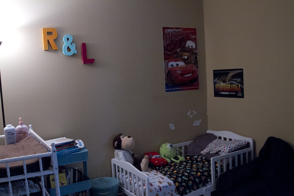 Moving a baby into a sibling's room