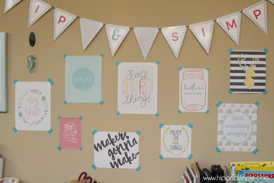 Makers Gonna Make Free Printable - @hipandsimple Collage1