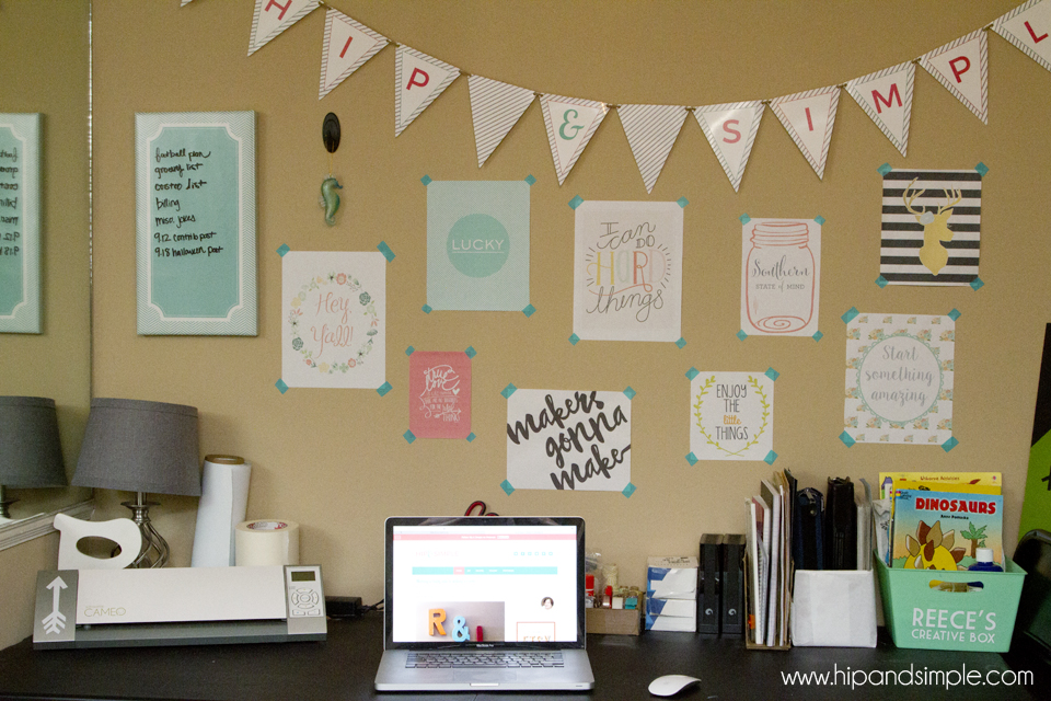 Makers Gonna Make Free Printable - @hipandsimple Collage3