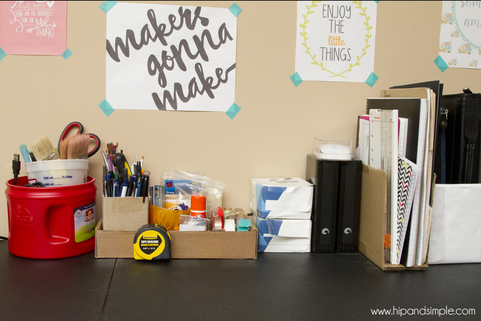 Makers Gonna Make Free Printable - @hipandsimple DIY Organizers 2
