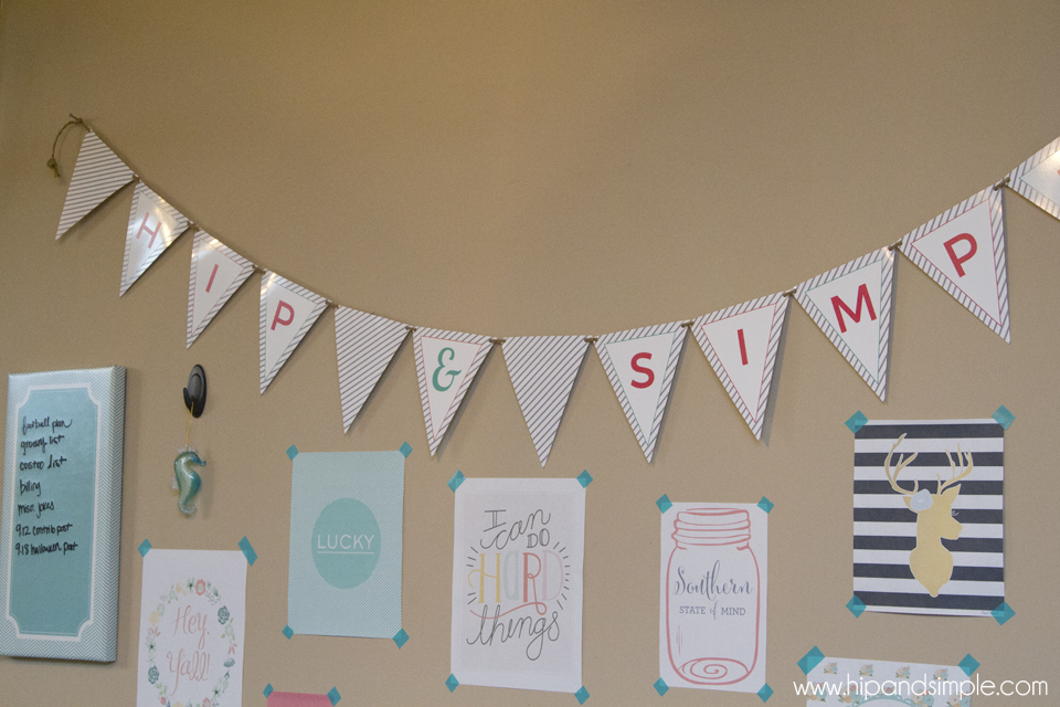 Makers Gonna Make Free Printable - @hipandsimple banner
