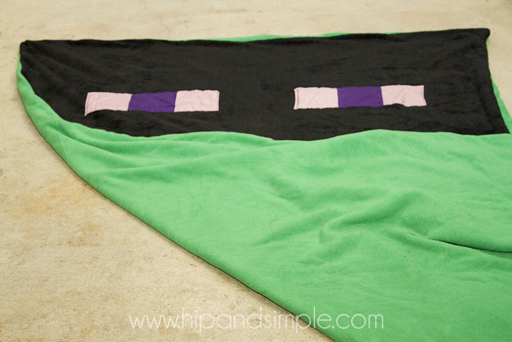 Minecraft Double Sided Blanket - Hip and Simple3 copy