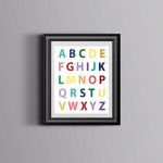 ABC Kids Room Decor – Free Printable