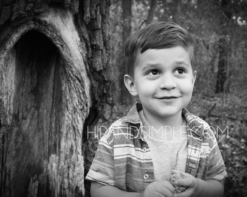 Toddler 4th Birthday Photo Session