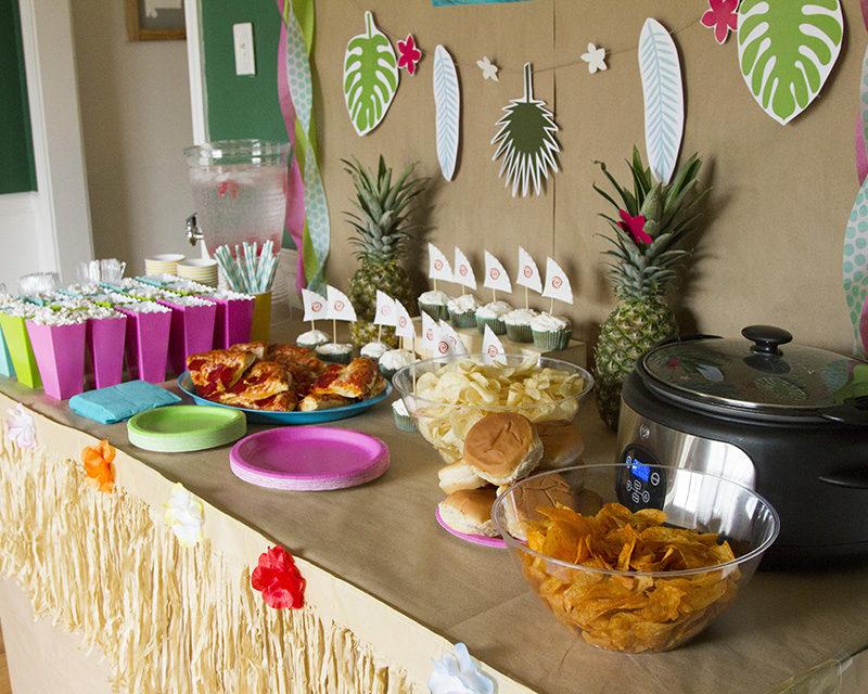 Moana Party