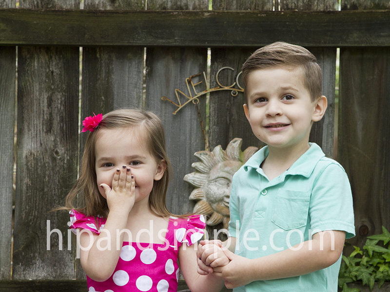 Happy Spring – Spring Family Pictures